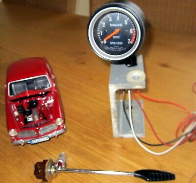 Volvo Amazon 123GT tachometer
