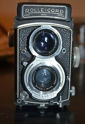 Rollei Rolleicord Va Model Type 1 with case - tested and good