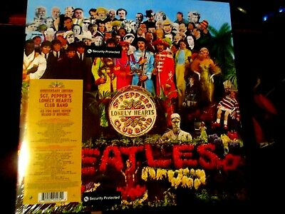 New/Sealed-2 Lp Vinyl Record Album-The Beatles-Sgt Pepper's-50Th Anniversary