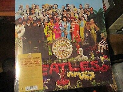 New/Sealed-Lp Vinyl Record Album-The Beatles-Sgt Pepper's-50Th Anniversary-Oop
