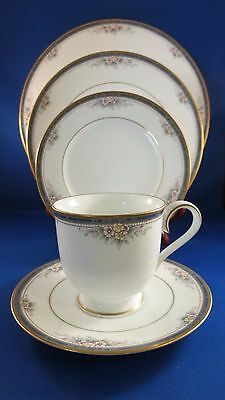 Noritake China ONTARIO (3763) 5 Piece Place Setting + Extra Cup, Saucer, Plate