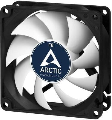 Arctic F8 80mm 2000RPM High Performance PC 3 Pin Case Cooling Fan
