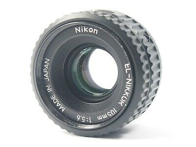 NIKON EL-NIKKOR 105mm 5.6 enlarging lens