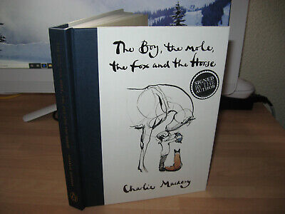 Charlie Mackesy Signed The Boy Mole Fox & Horse 1st/1st Waterstones Book of Year