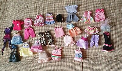 BARBIE small DOLL CLOTHING clothes BUNDLE LOT simba