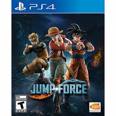 Jump Force -- Standard Edition (Sony PlayStation 4, 2019) PS4
