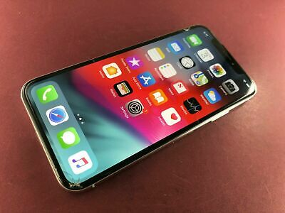 Apple iPhone X - 64GB - Silver (Unlocked) A1901 (GSM) AT&T T-Mobile Clean IMEI