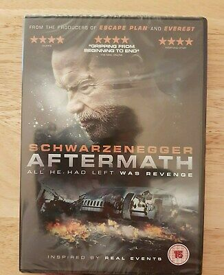 Ref 706 - NEW & SEALED, Aftermath DVD - Action Film With Arnold Schwarzenegger