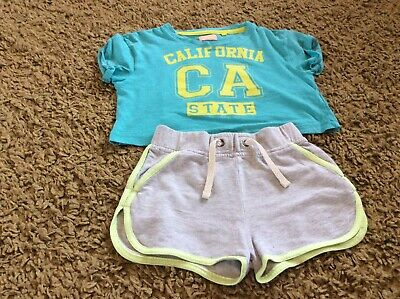 Girls Next Short And Top Set Age 4