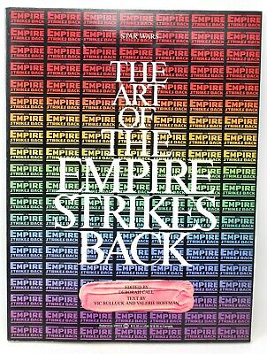 The Art Of The Empire Strikes Back 1980 First Edition Bulluck Hoffman Star Wars
