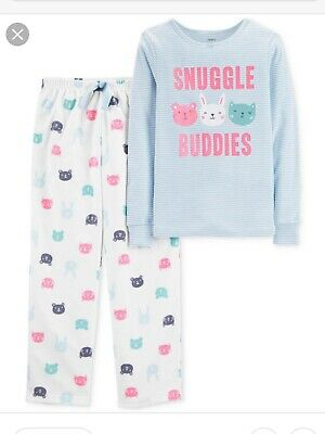 Snuggle Buddies Girls Pyjamas Fleece Bottoms Aged 6 Yrs Bnwt. Rrp£25.00