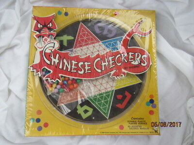 NEW Vintage 1969 HASBRO Chinese Checkers Sealed Game Set  NOS Factory Shrinkwrap