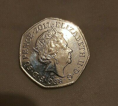 Rare Mr Jeremy Fisher 2017 50p Coin