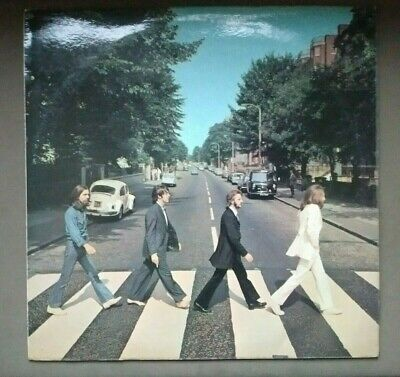 The Beatles Abbey Road Vinyl Lp Uk Apple Records 1969 Ex Condition