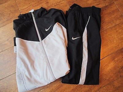 Kids Nike Tracksuit Boys Junior Football Sports Full Tracksuits Bottoms Top  SB