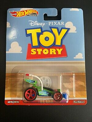 2019 Hot Wheels 1/64 Disney Pixar Toy Story RC CAR Pop Culture Real Rider FYP68