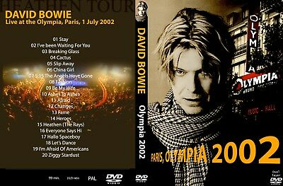 David Bowie. 2002. Live At The Olympia. Paris. Dvd.