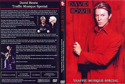 David Bowie. Traffic Musique Special. French Tv. Dvd.