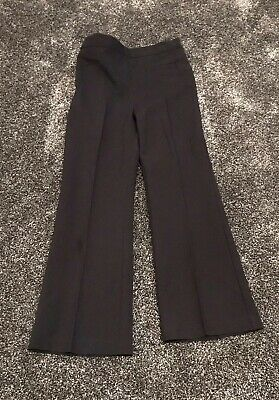 BHS Girls Navy Blue School Uniform Trousers Age 7 Years