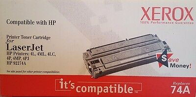 74A Compatible Cartridge for Apple Laserwriter 300, 320 (XEROX, NEW IN BOX)