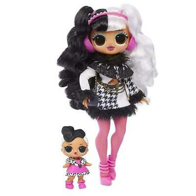 1 LOL SURPRISE OMG Dollie & Dollface Winter Disco Doll Sold Out Toy