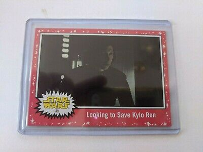 2019 Topps Star Wars Journey to The Rise of Skywalker #39 Red Parallel