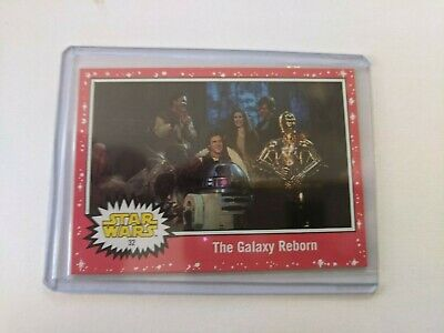 2019 Topps Star Wars Journey to The Rise of Skywalker #32 Red Parallel