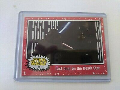 2019 Topps Star Wars Journey to The Rise of Skywalker #68 Red Parallel