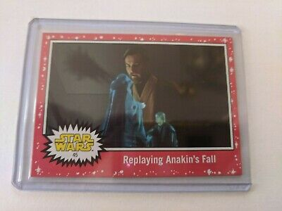 2019 Topps Star Wars Journey to The Rise of Skywalker #45 Red Parallel