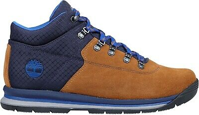 Men's Rally Boots Mixed Gt Brown Blue Media Timberland Mid dWrxCBoe