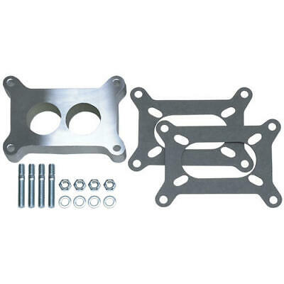 """2137 Trans Dapt Performance 1"""" Tall, Holley 2Bbl Spacer  Ported  Cast Aluminum"""