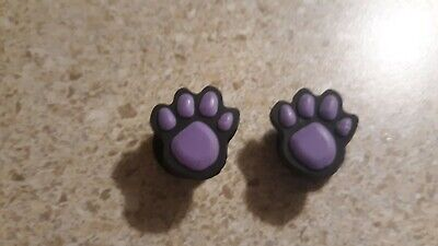 Lot of 2  Woodstock Jibbitz charms for Crocs clog shoes Craft or scrapbook uses