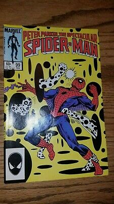 Peter Parker, The Spectacular Spider-Man #99 NM (1985)