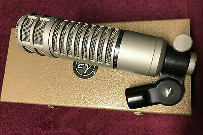 Vintage Electro Voice RE-20 Broadcast Microphone