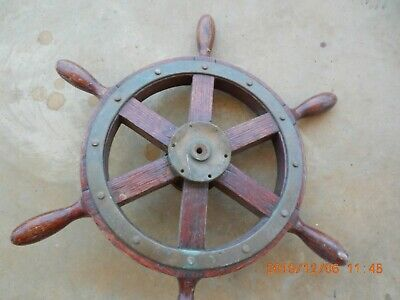 Boat Steering Wheel -Chain driven
