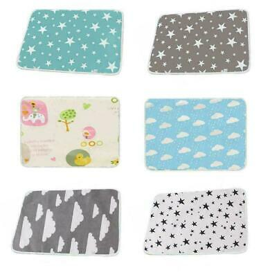 Baby Deluxe Large 50*70cm Changing Mat Soft Padded Waterproof Wipe Y9P2 Cle H7Q8