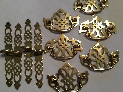 Brass Cabinet Hardware Pulls Knobs Early American