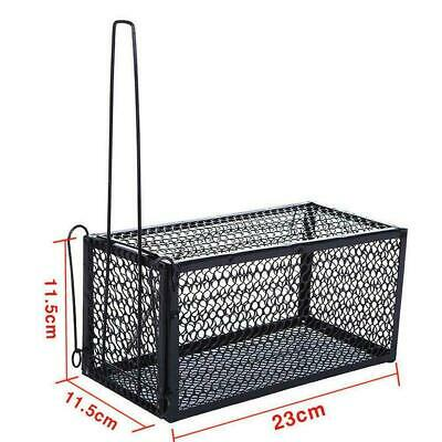 Humane Rat Trap Cage Live Animal Pest Rodent Mice Mouse Bait Catch Control Y4G6