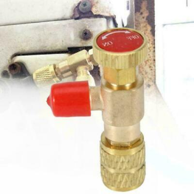 1/4''- 5/16'' R410A Copper Flow Control Valve For Refrigerant D0P6 Charging V1U1