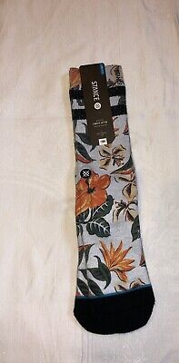 "Stance Athletic Combed Cotton Dress Socks Mens  L/XL (9-13)NWT 1 Pair ""Kahuku"""