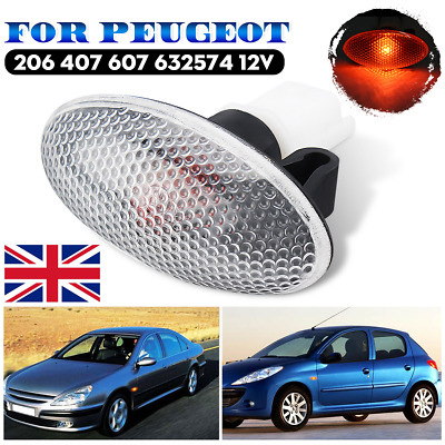 2x Side Marker Lights Lamps White Clear RENAULT PREMIUM I//II MIDLUM KERAX MAGNUM