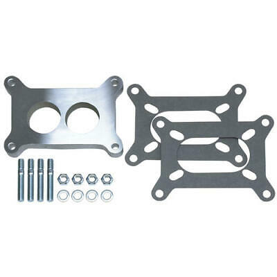 """2136 Trans Dapt Performance 1/2"""" Tall, Holley 2Bbl Spacer  Ported  Cast Aluminum"""