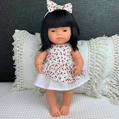38cm /15 inch MINILAND Doll Dress Handmade Dolls Outfit Clothing