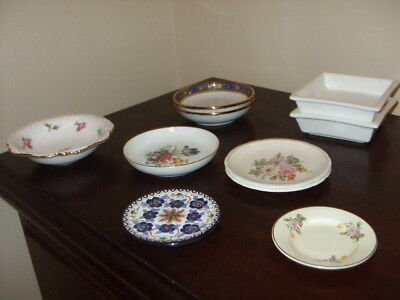 Collection of 10 Small Porcelain Items including Spode Bowl in Good Condition
