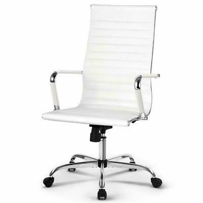 Artiss Eames Replica Office Chair with Premium PU Leather High Back Executive