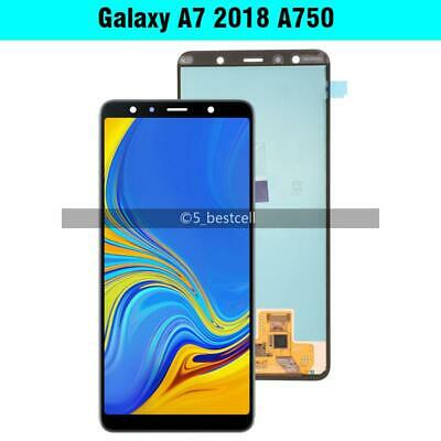 For Samsung Galaxy A7 2018 A750 SM-A750F AMOLED LCD Display TouchScreen Assembly