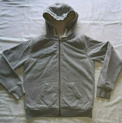 Marks & Spencers Fleece lined Zip up Hooded Jacket, age 11-12 yrs