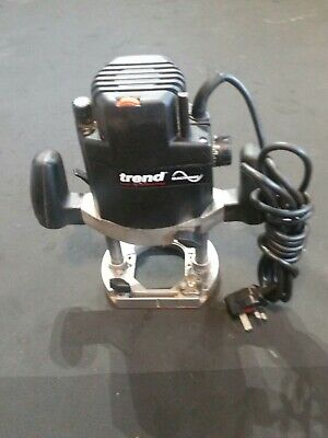 """Trend  1/2"""" Wariable Speed Plunge Router 230V-1800W."""