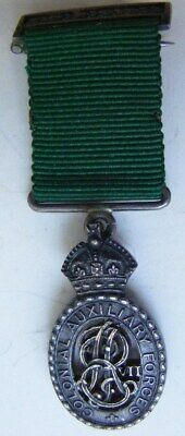 Miniature Medal: Australia: Colonial Auxiliary Forces Officers Dec EVII  Silver