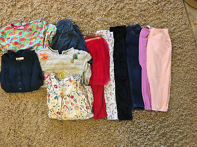 Girls Autumn/winter Clothing Clothes Bundle 4-5 Years X11 Items